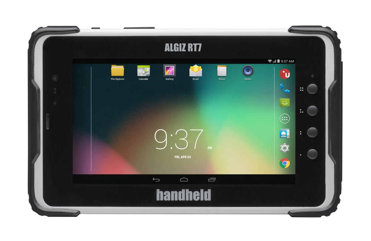 Handheld Algiz RT7 - rugged Android Tablet mit 7 Zoll Display, WLAN, BT, LTE, NFC, GPS