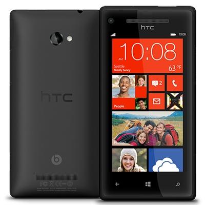 HTC Windows Phone 8X, schwarz mit Windows Phone 8 OS (ohne Branding