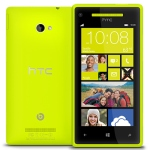 Bild von: HTC Windows Phone 8X, gelb mit Windows Phone 8 OS (ohne Branding, ohne SIM-Lock)