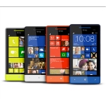 Bild von: HTC Windows Phone 8S, blau-schwarz mit Windows Phone 8 OS (ohne Branding, ohne SIM-Lock)