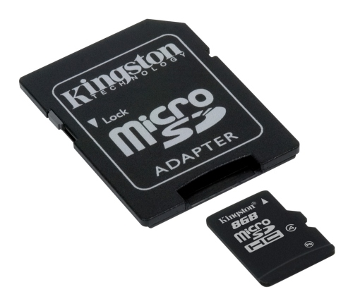 Kingston microSDHC Speicherkarte 8 GB (Klasse 4)