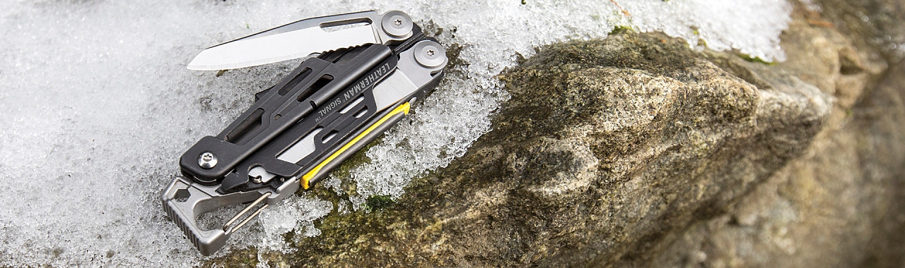 Abbildung Leatherman Multitool, hier das Leatherman Signal