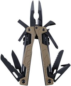 Leatherman OHT Coyote braun - 16in1 Multi-Tool mit Nylon Holster