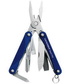 Leatherman Squirt PS4, blau - 9in1 Multi-Tool