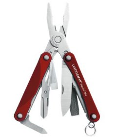 Leatherman Squirt PS4, rot - 9in1 Multi-Tool