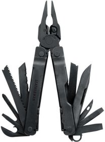 Leatherman Super Tool 300 schwarz - 19in1 Multi-Tool mit Nylon Holster