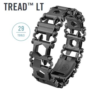Leatherman Tread LT Inch schwarz - 29in1 Multi-Tool-Armband