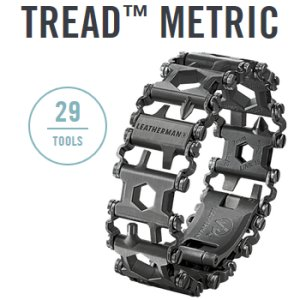 Leatherman Tread metric schwarz - 29in1 Multi-Tool-Armband
