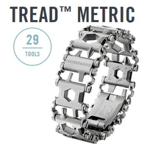 Leatherman Tread metric silber - 29in1 Multi-Tool-Armband