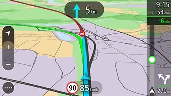 Bild TomTom Go 520 Lebenslang TomTom Traffic