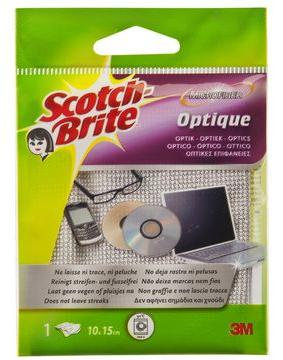 3M ScotchBrite Mikrofaser Reinigungstuch Optique
