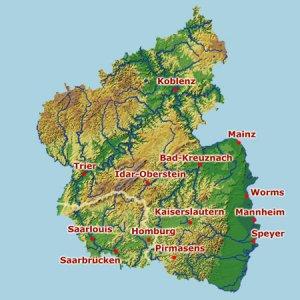 topographische karte rheinland pfalz MagicMaps: Interaktive Kartenwerke   Rheinland Pfalz / Saarland 3D  topographische karte rheinland pfalz