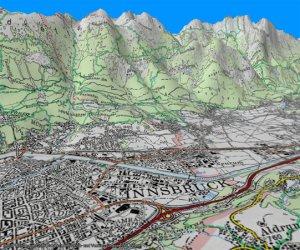 3d Karte Osterreich.Magicmaps Osterreich 3d Topographische Karte Pda Max