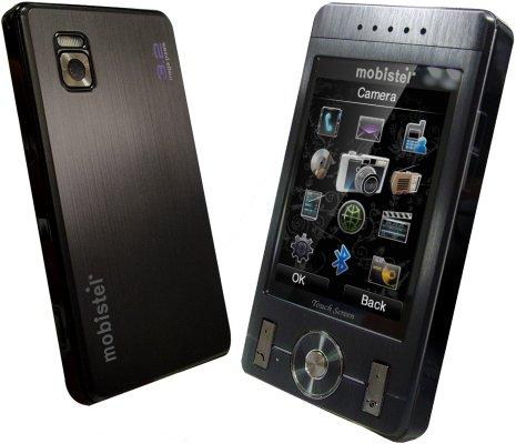 mobistel el580 schwarz touchscreen phone mit bluetooth. Black Bedroom Furniture Sets. Home Design Ideas