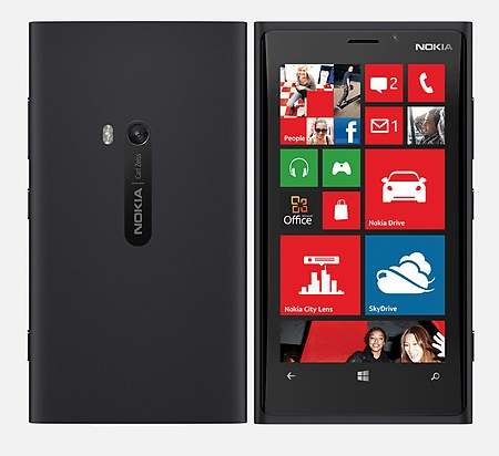 Nokia Lumia 920, schwarz mit Windows Phone 8 - Produktbild 1