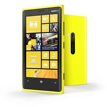 Nokia Lumia 920, gelb mit Windows Phone 8 - Produktbild 1