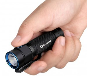 Olight S1A Baton - Taschenlampe, Cree XM-L2 LED, 600 Lumen, AA Lithium Batterie