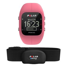 Polar A300 HR, pink - Fitness / Activity Tracker