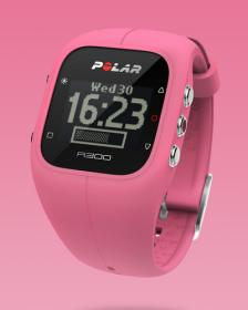 Polar A300, pink - Fitness / Activity Tracker