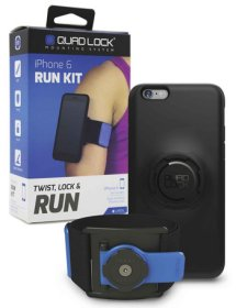 Quad Lock Run Kit - Sport Armband mit Schutzhülle für Apple iPhone 6 Plus/ 6S Plus