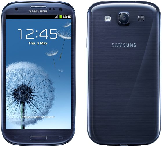 Samsung Galaxy S3 I9300 16GB, pebble blue mit Android OS - Produktbild 1