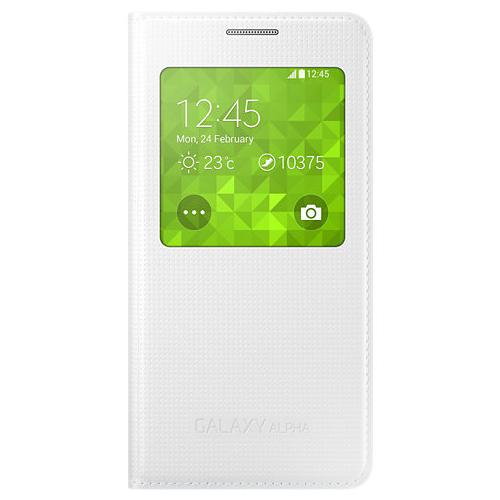 samsung s view cover ef cg850 weiss f r samsung galaxy. Black Bedroom Furniture Sets. Home Design Ideas
