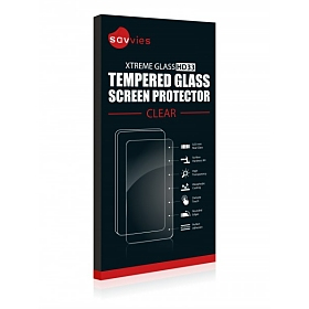 Savvies Xtreme Glass HD33, clear für Samsung Galaxy S3 mini I8190
