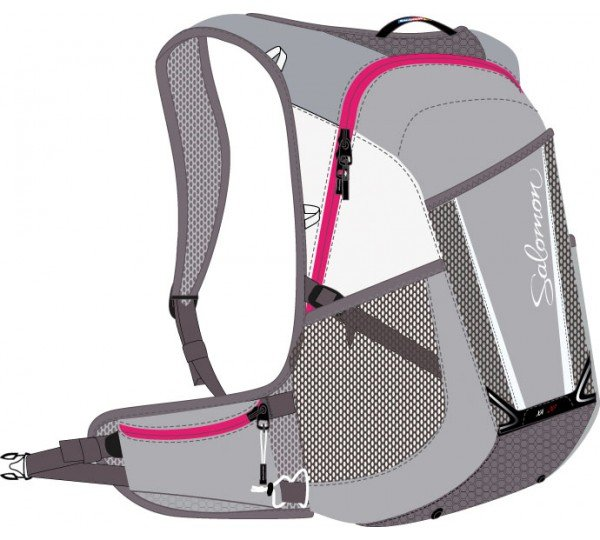 Salomon XA 20 W Aluminium Hot Pink 0e10e43243