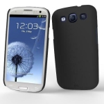 Bild von: case-mate Barely There Cover, schwarz f�r Samsung Galaxy S3 I9300