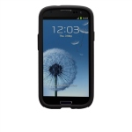 Bild von: Case-Mate Hybrid Tough Protection Cover, schwarz f�r Samsung Galaxy S3 I9300
