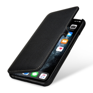 Stilgut Book-Style Ledertasche für Apple iPhone 11 Pro Max