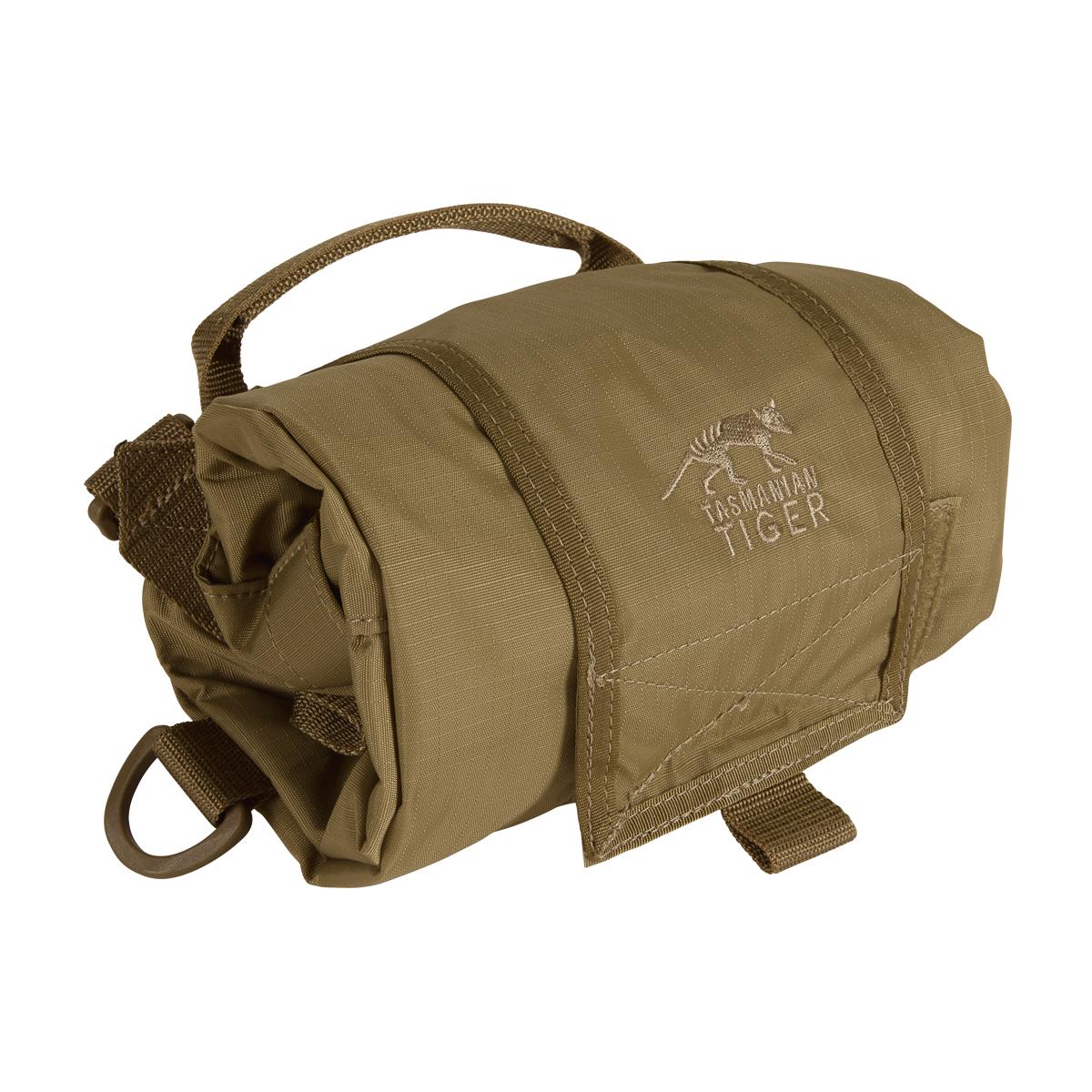 tasmanian tiger tt roll up bag khaki 10 liter rucksack. Black Bedroom Furniture Sets. Home Design Ideas