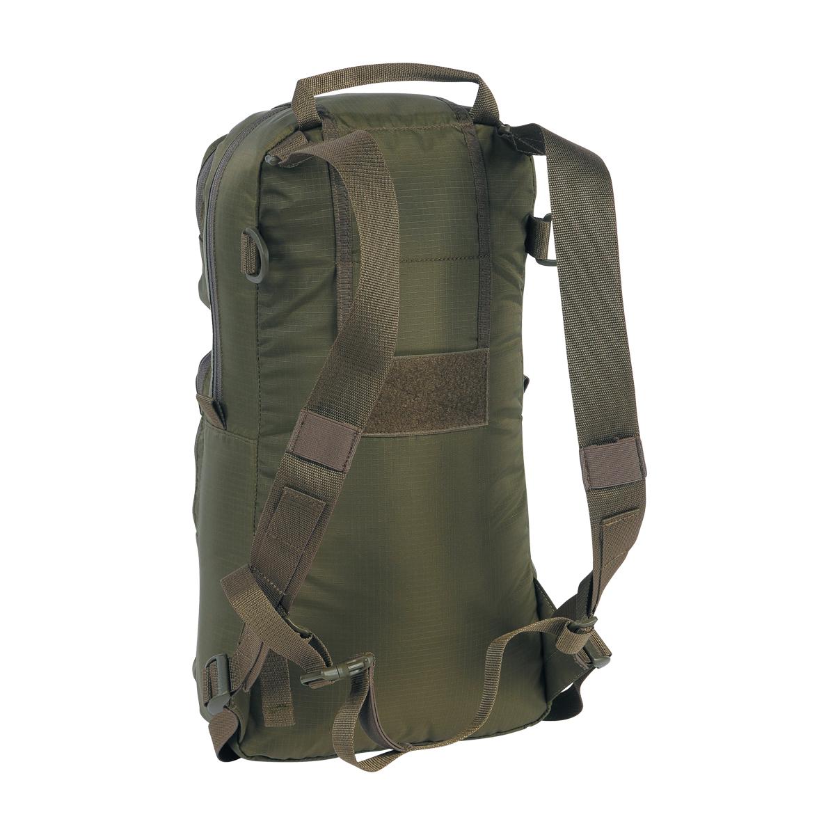 tasmanian tiger tt roll up bag olive 10 liter rucksack. Black Bedroom Furniture Sets. Home Design Ideas