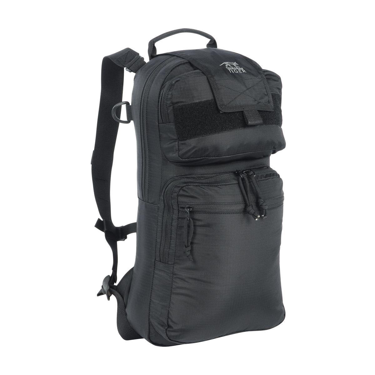 tasmanian tiger tt roll up bag schwarz 10 liter rucksack. Black Bedroom Furniture Sets. Home Design Ideas