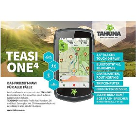 Teasi One 4 - Outdoor- Navigationsgerät