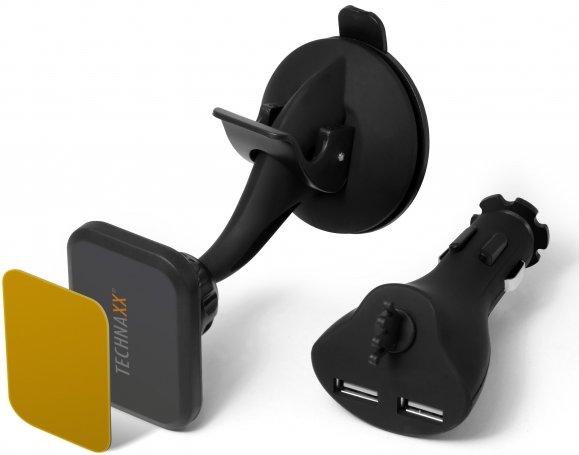 technaxx te09 magnet kfz halterung mit saugnapf und. Black Bedroom Furniture Sets. Home Design Ideas