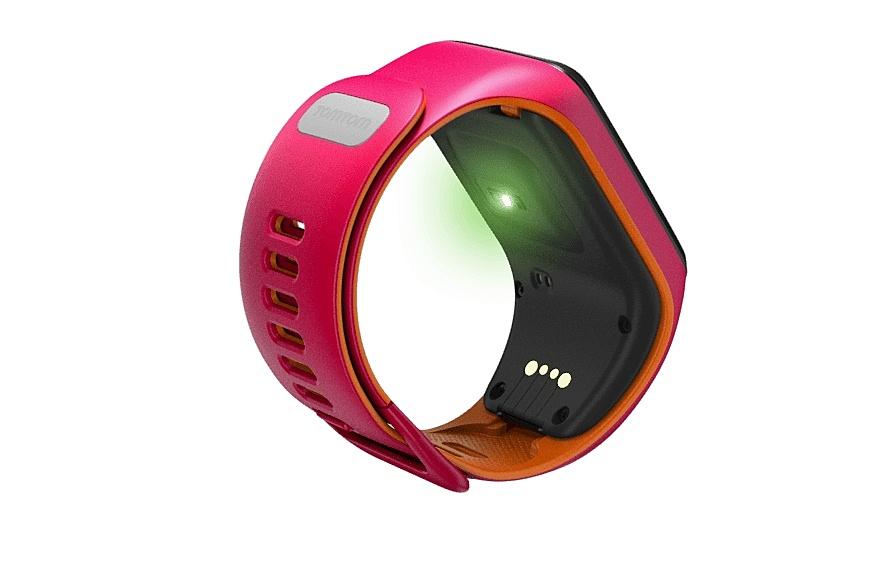 tomtom runner 3 cardio musik pink orange gr e s. Black Bedroom Furniture Sets. Home Design Ideas
