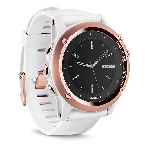 garmin fenix 3 wei rosegold mit saphirglas gps. Black Bedroom Furniture Sets. Home Design Ideas