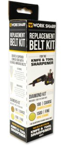 Work Sharp Diamantschleifband-Sortiment 180 / 1500 für Knife and Tool Sharpener , Ken Onion Edition